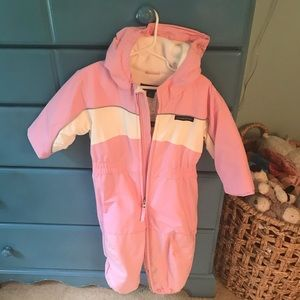 Girls 2T snow suit